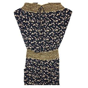 Other - ROMPER Navy Blue with Gold trim